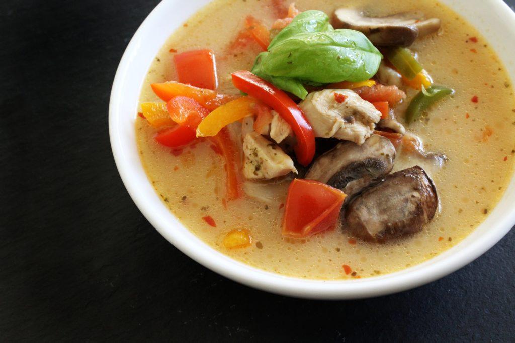 Spicy Thai Chicken Soup