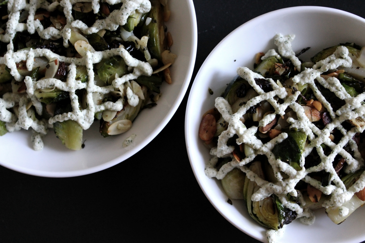 Brussels Sprouts + Dill Sauce Thumbnail