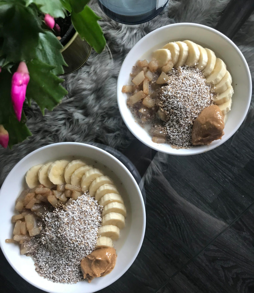 Amaranth Breakfast Bowl